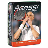 The Agassi Story The Journey of a Tennis Legend