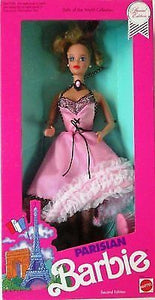 Barbie Dolls Of The World Special Edition Parisian