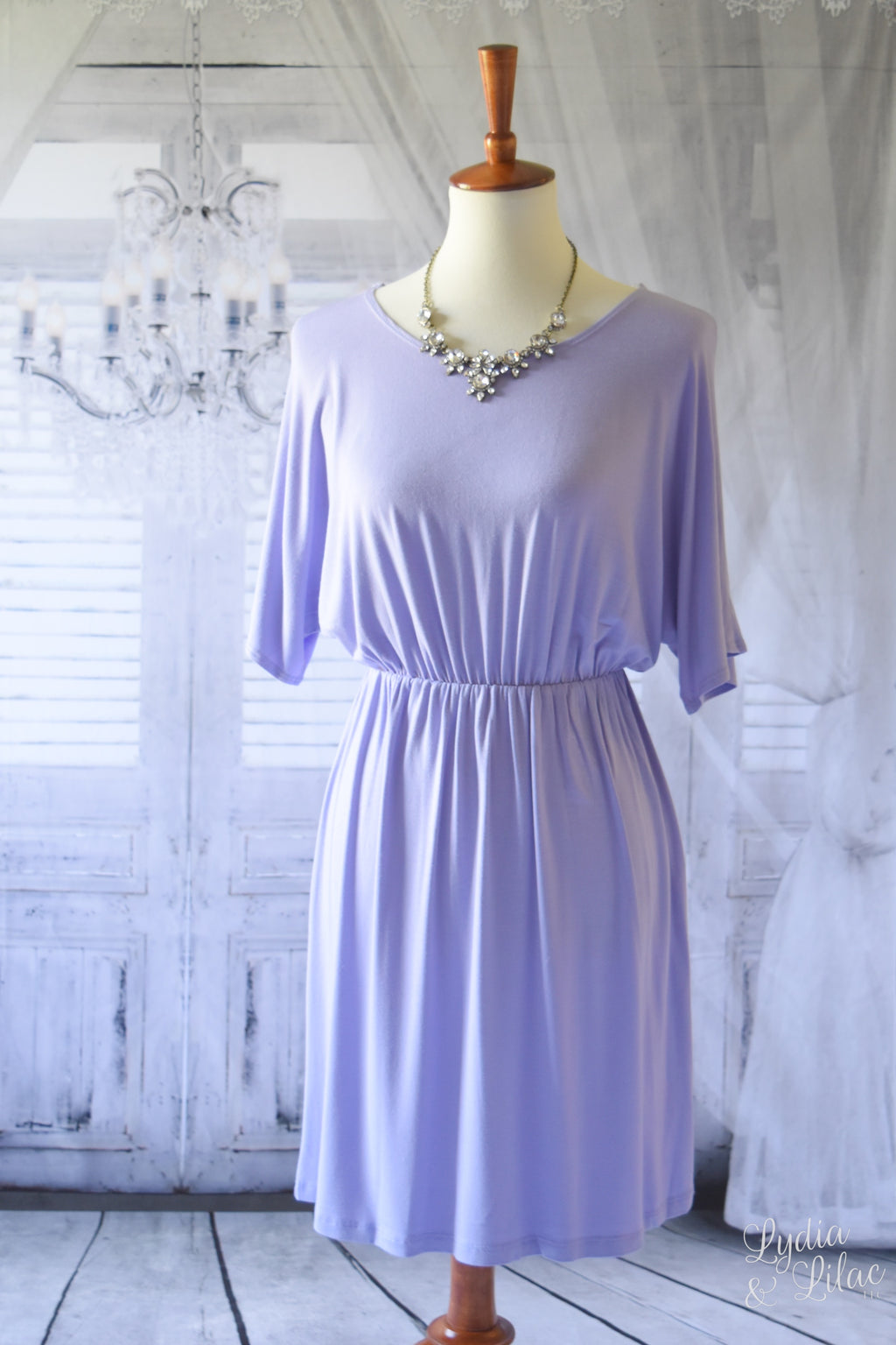 Mia Dress in Lilac