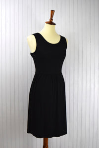 Penelope Tank Dress in Black
