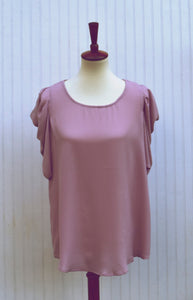 Dana Vintage Top in Rose