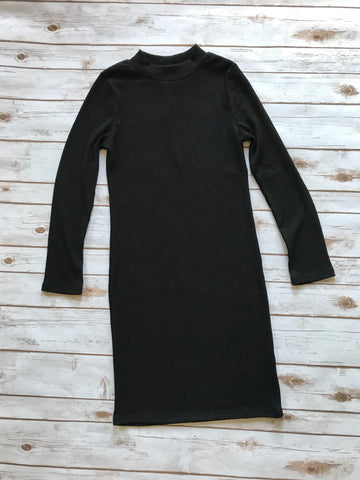 Black Sweater Dress-Large
