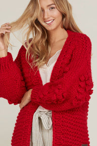 RED COVET ME SWEATER