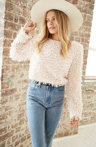 GLORIOUS CROP SWEATER