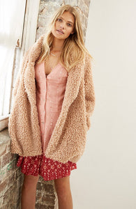 WAKING HOUR TEDDY COAT