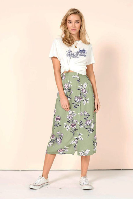 WANDERER DRAWSTRING SKIRT