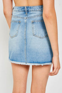 OVER DENIM MINI