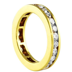 1.50CT Channel Set Eternity Ring