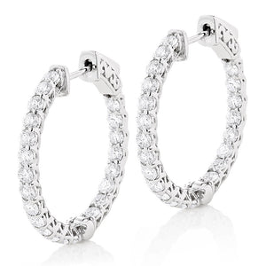 2.00CT Inside/Outside Hoops