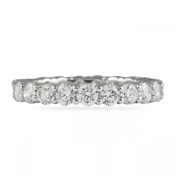 4.25CT Shared Prong Eternity Ring
