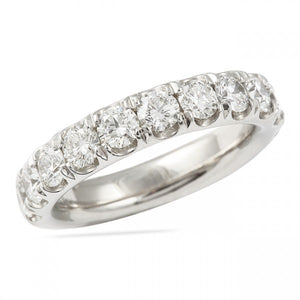 1.25CT Pave Set Wedding Band