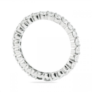 1.00CT Shared Prong Eternity Ring
