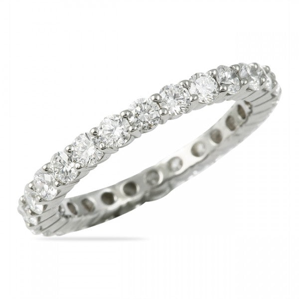 0.75CT Shared Prong Eternity Ring