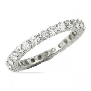 1.50CT Shared Prong Eternity Ring