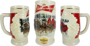2014 Budweiser Holiday Stein