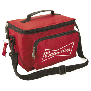 Budweiser Red 6 Pack Cooler