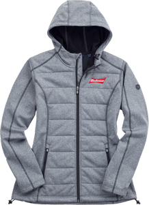 Budweiser Ladies C&B Quilted Jacket