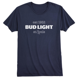 Bud Light St. Louis Blue T- Shirt