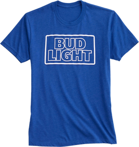 Bud Light Blue T- shirt