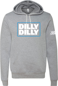 Bud Light Dilly Dilly Gray Hoodie Pullover