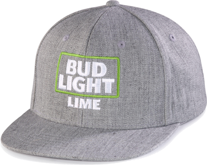 Bud Light Lime Grey Cap