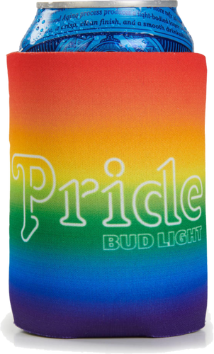 Bud Light Pride Can Coolie