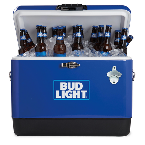 Bud Light 54QT Steel Belted Cooler