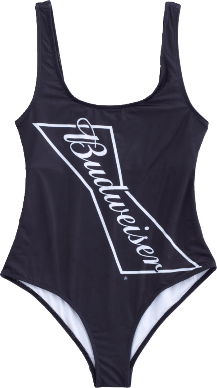 Budweiser Ladies Black Swimsuit