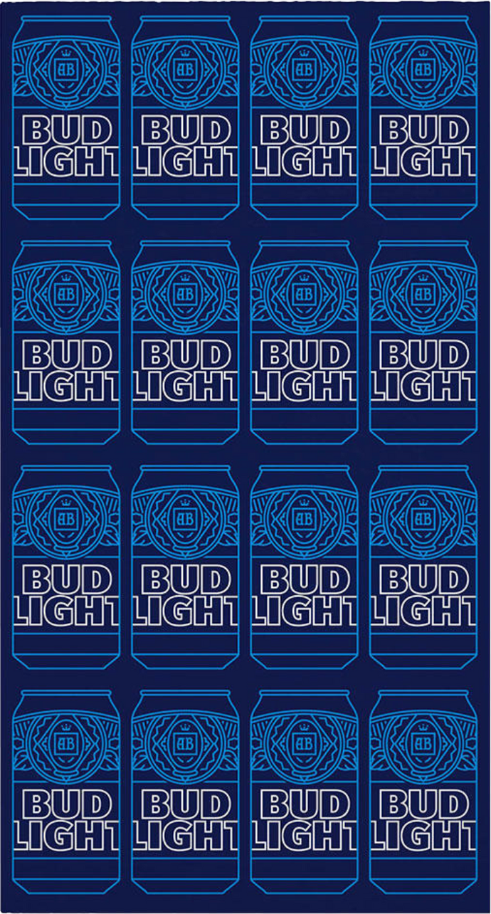 Bud Light Face Cover- Mask- Bandana- Gaiter