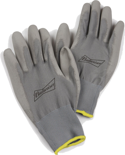Budweiser Grip Gloves Pair