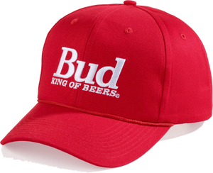Bud King Of Beers Red Cap