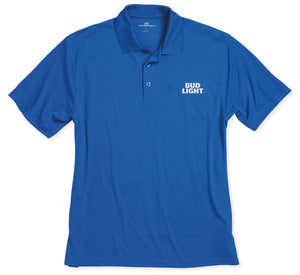Bud Light Mesh Tech Polo