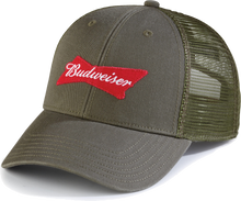 Budweiser Green Military Cap