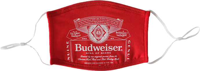 Budweiser Face Mask