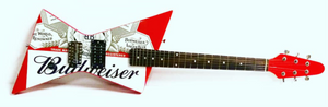 Budweiser Electric Guitar