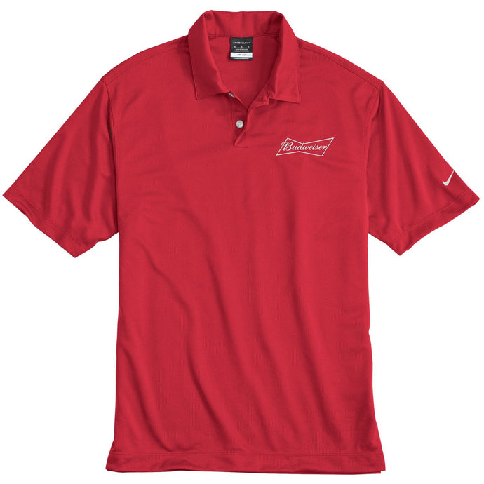 Budweiser Nike Red Polo