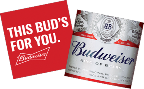 Budweiser Beer Coasters Case (1000/ case)