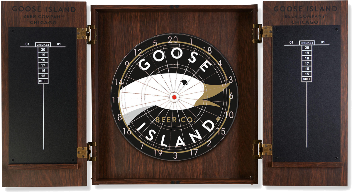 In Out Board >> Goose Island Dart Board – EP Bud Store