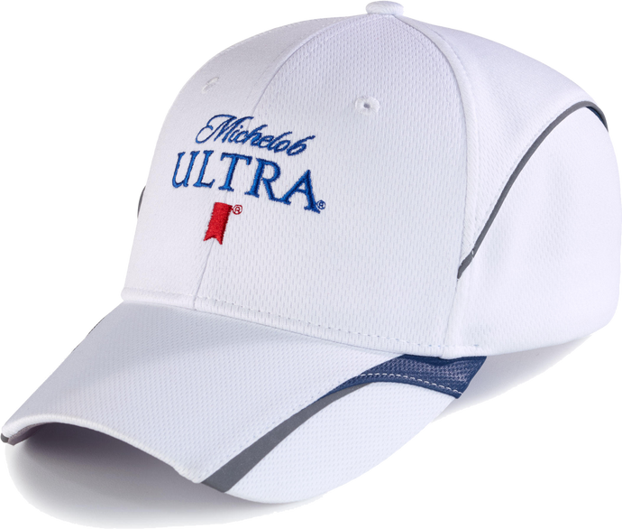Michelob Ultra White/ Navy Cap