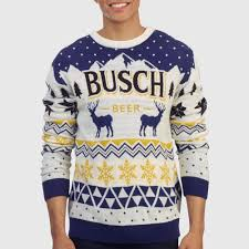 Busch Holiday Sweater