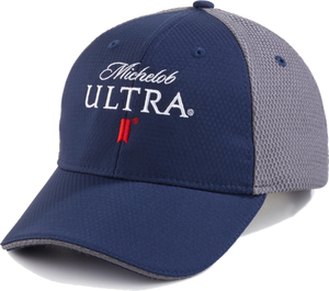 Michelob Ultra Navy/ Gray Performance Cap