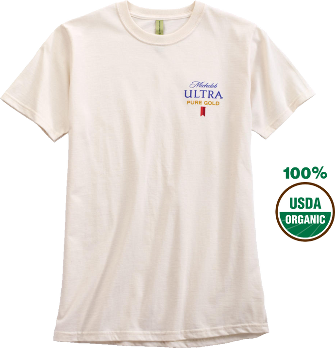 Michelob Ultra Gold Organic T- Shirt