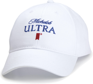 Michelob Ultra White Cap