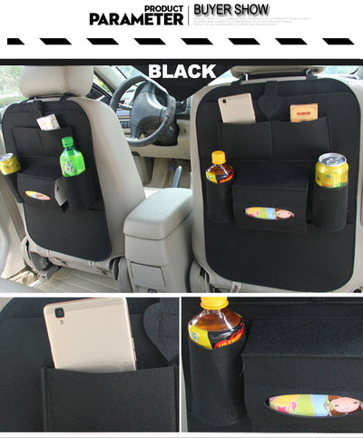 Car Storage Bag Organizer Universal Back Seat Bags Stowing Tidying Backseat Trunk Box Pockets Protector In Cars Auto Accessories