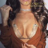 Beautiful Brassiere Body Jewelry Chain Necklaces