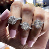 10 Designs Luxury Womens Engagement Rings/ Wedding Sets Bands