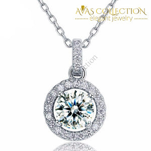 1 Carat Pendant Necklace Pendants