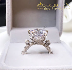 3 Carat Engagement Ring 10K White Gold Filled Underwear