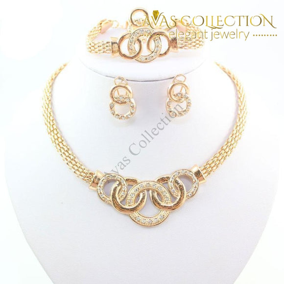 Statement 4Pcs Set Jewelry Sets