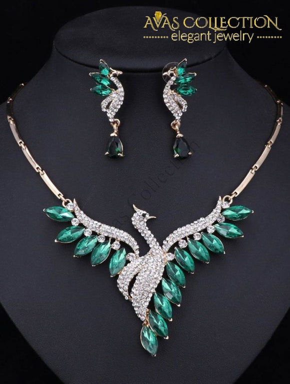 Peacock Party Set Jewelry Sets